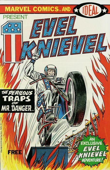 Evel Knievel, bd Marvel