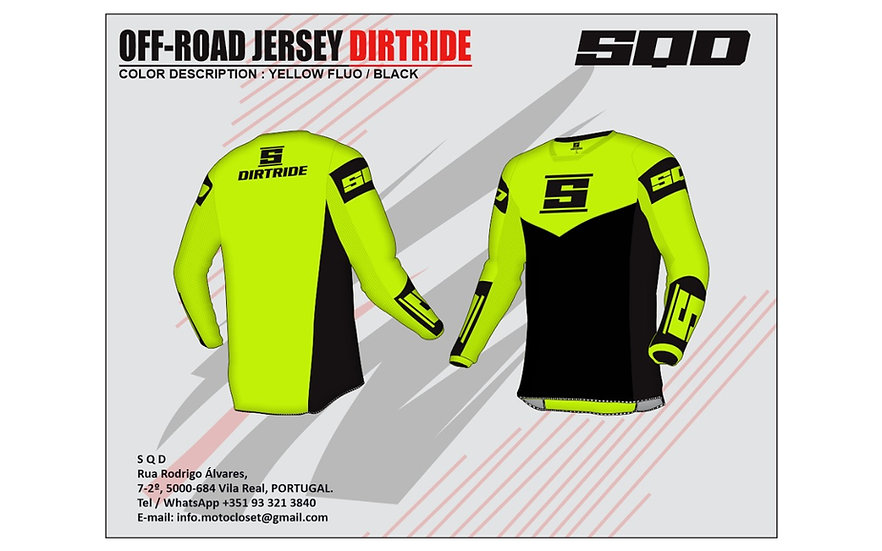 SQD, jersey MX DIRTRIDE Basic
