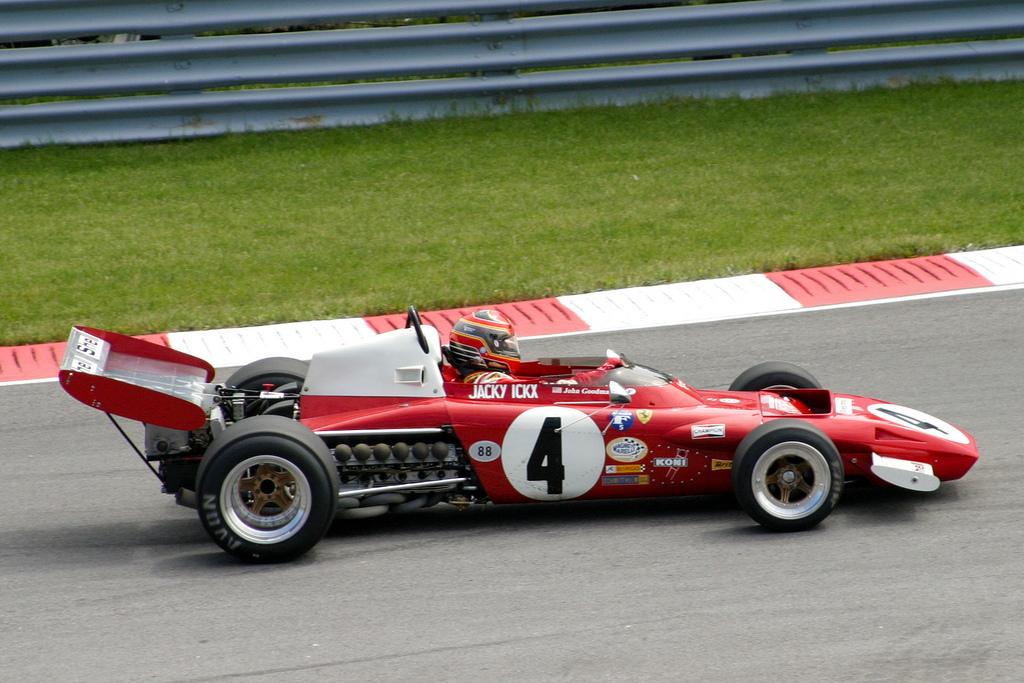 Jacky Ickx, F1, FERRARI 312 B