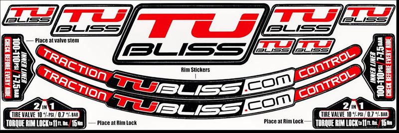 NUETECH, peça/stickers kit TU-BLISS Gen2
