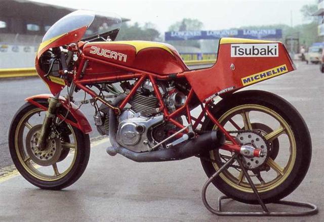 Tony Rutter, 1985, DUCATI Pantah 600 TT2