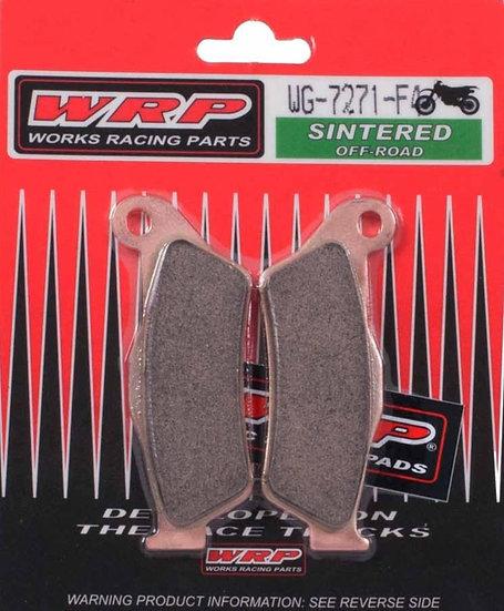 WRP, pastilhas de travão SINTERED F4