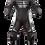 Thumbnail: MUGENRACE, fato pele racing LS1-1702 preto/branco