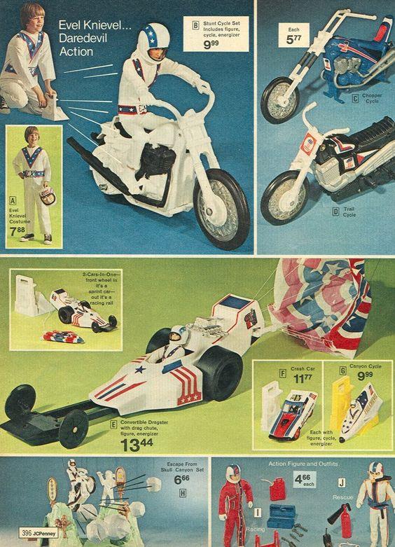 Evel Knievel, brinquedos