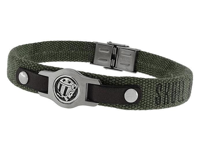 SKULL RIDER, Skull Rider polyester bracelet
