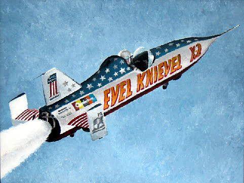 Evel Knievel, skycicle, A