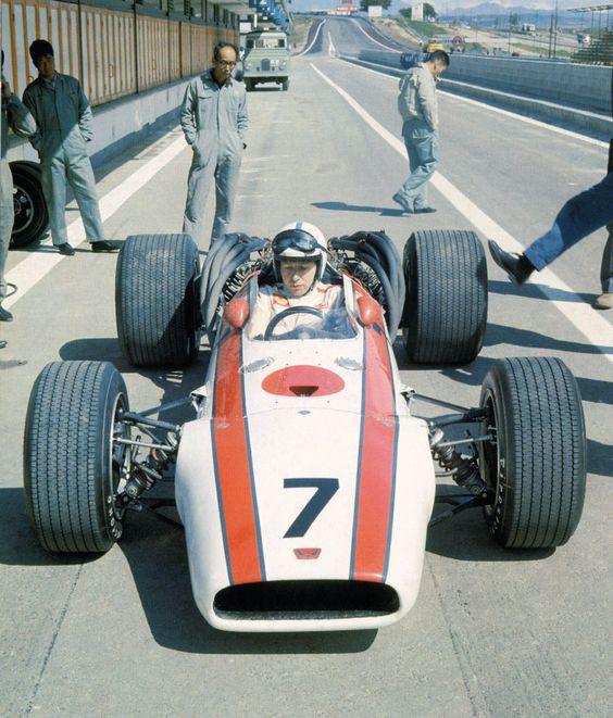 John Surtees, 1968, Jarama, HONDA