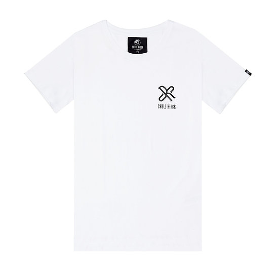 SKULL RIDER, t-shirt LOGO SR