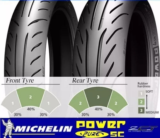MICHELIN, pneu POWER PURE SC