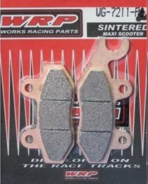 WRP, pastilhas de travão SINTERED F8