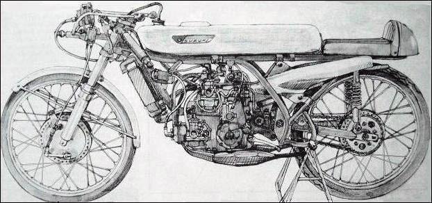 1968, SUZUKI RP68 (50cc), uma obra de alta relojoaria