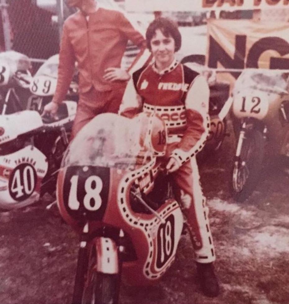 ONE SHOT - Freddie Spencer, 1975 em Daytona