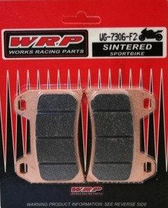 WRP, pastilhas de travão SINTERED F2