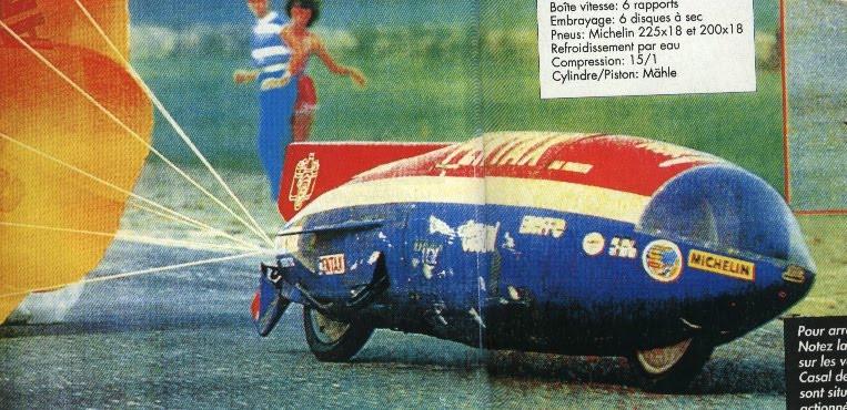 1981, CASAL, o recorde Mundial de velocidade 50cc