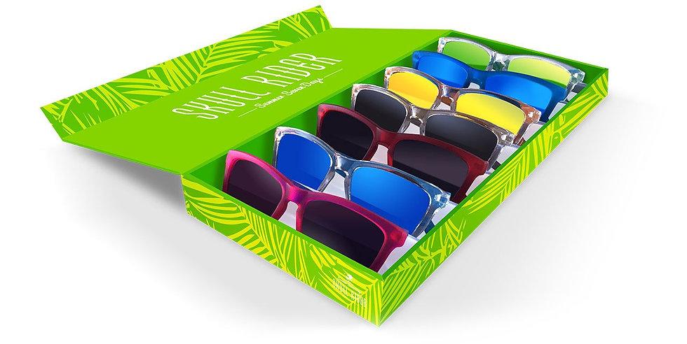 SKULL RIDER, óculos de Sol 7 looks SUMMER BEAT by Jessica Goicoechea