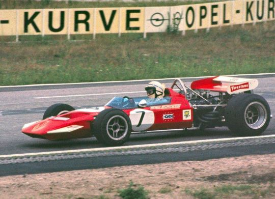 John Surtees, 1970, Hockenheim, SURTEES TS7