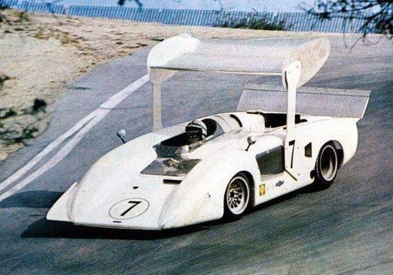 John Surtees, 1969, Laguna Seca, CHAPARRAL 2H