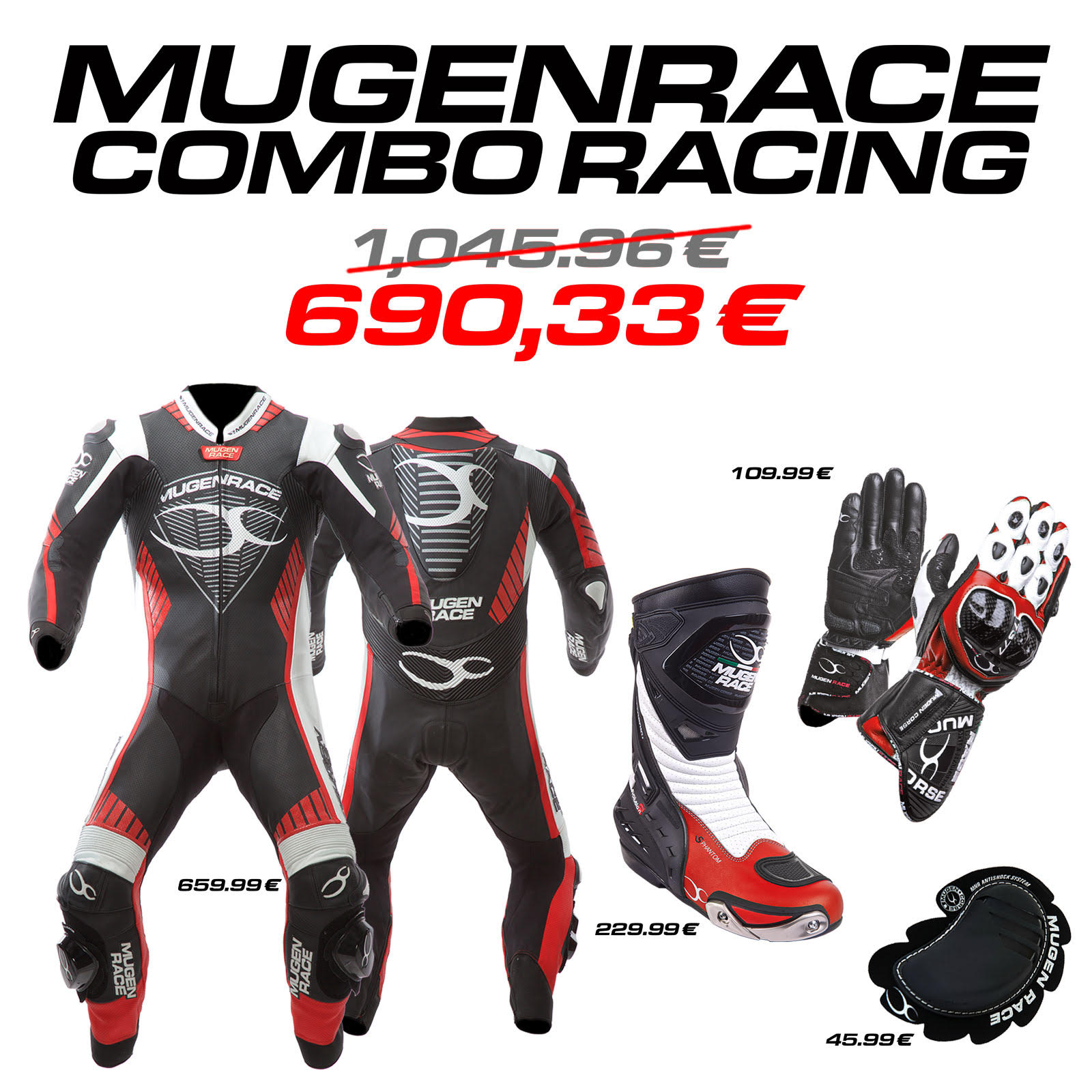 MUGENRACE combo Racing (man)