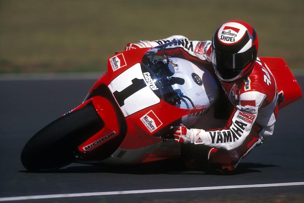 Wayne Rainey, YAMAHA, Campeão do Mundo de Velocidade 500cc