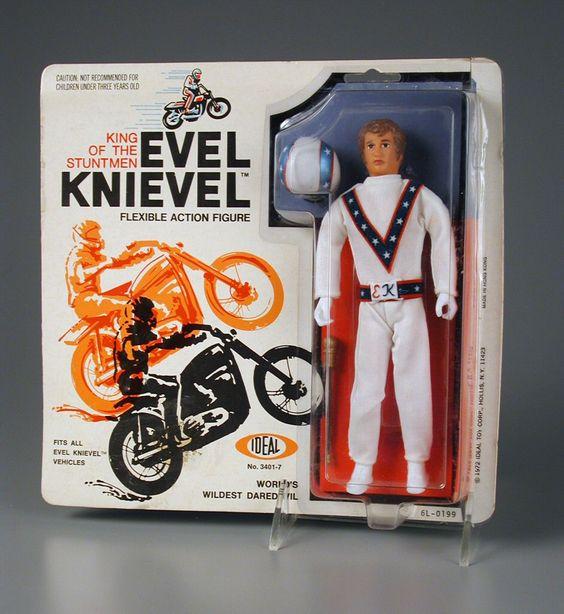 Evel Knievel, figurinha, C