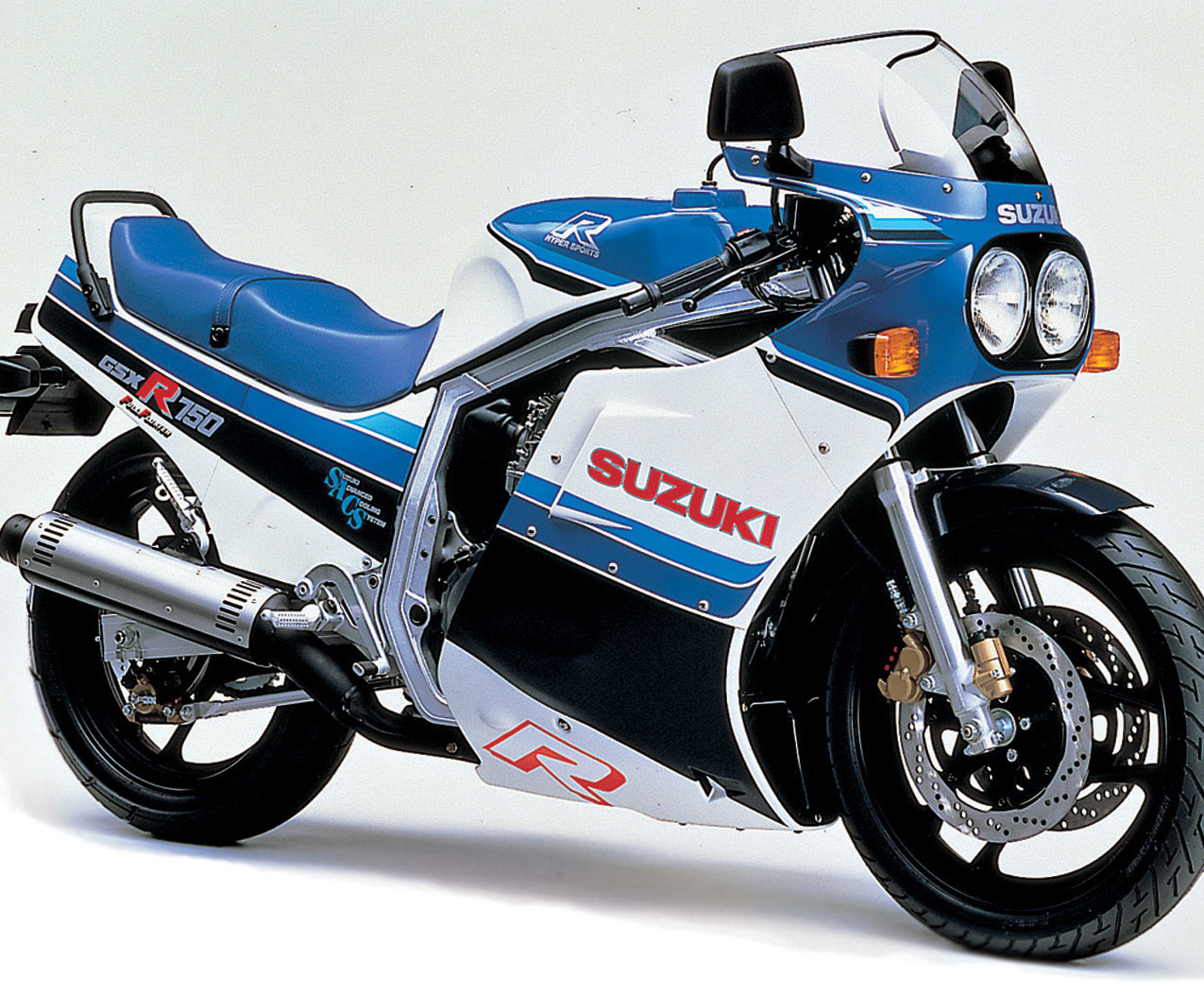 SUZUKI GSXR 750, 1985