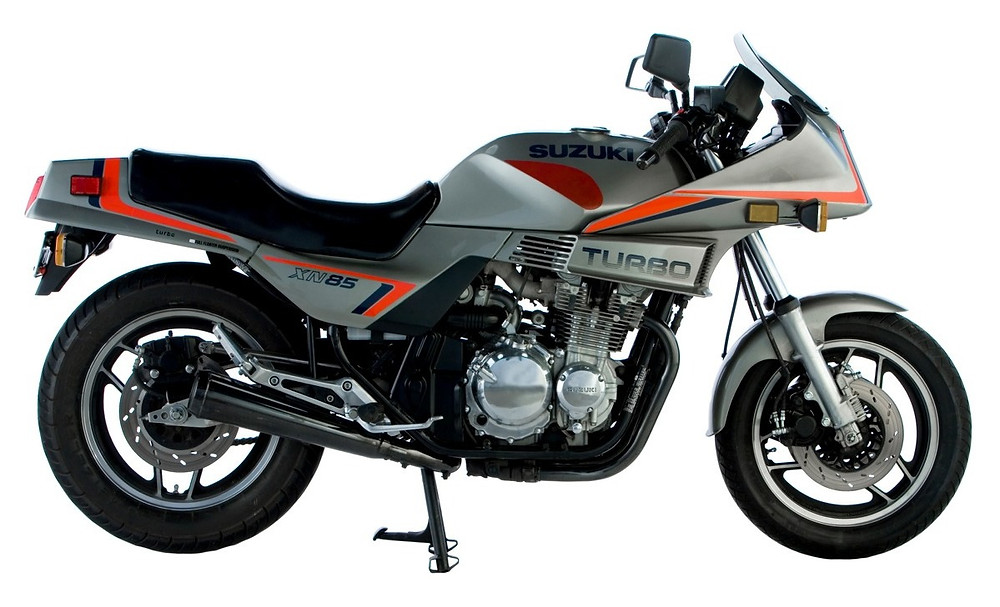 SUZUKI XN85 Turbo, 1983