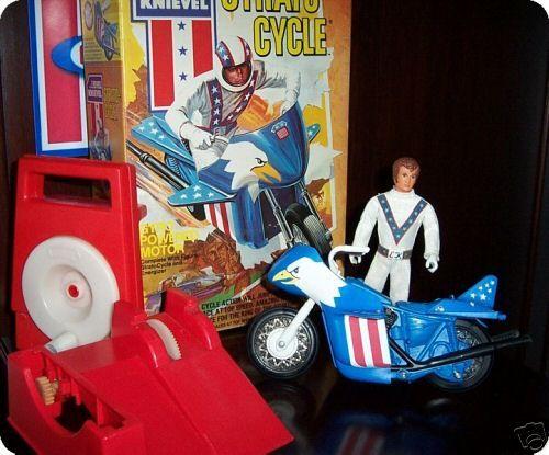 Evel Knievel, miniaturas, C