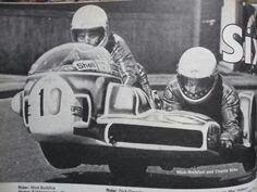 KONIG Sidecar, 1976, Mick Boddice - Neil Reardon