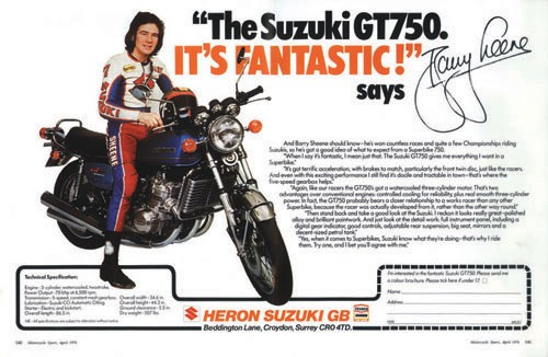 A SZK GT750 Barry a