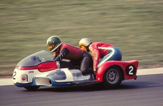 KONIG Sidecar, Mick Boddice - Dave Loach