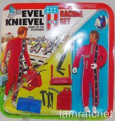 Evel Knievel, figurinha, B