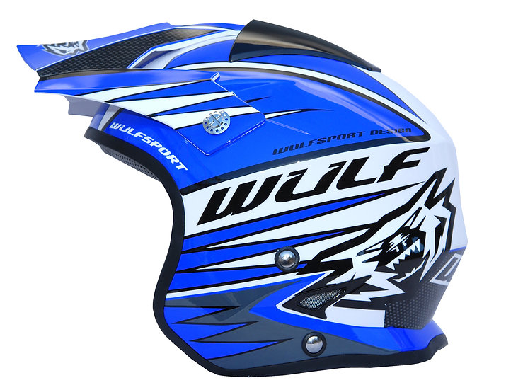 WULFSPORT, capacete TRI-ACTION