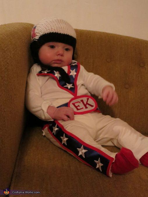 Evel Knievel, fato de bébé