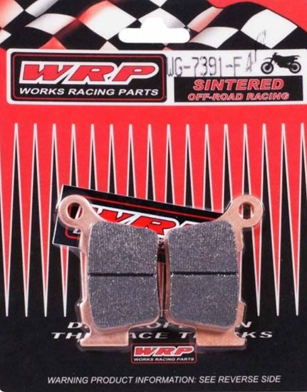 WRP, pastilhas de travão RACING OFF-ROAD SINTERED F4R