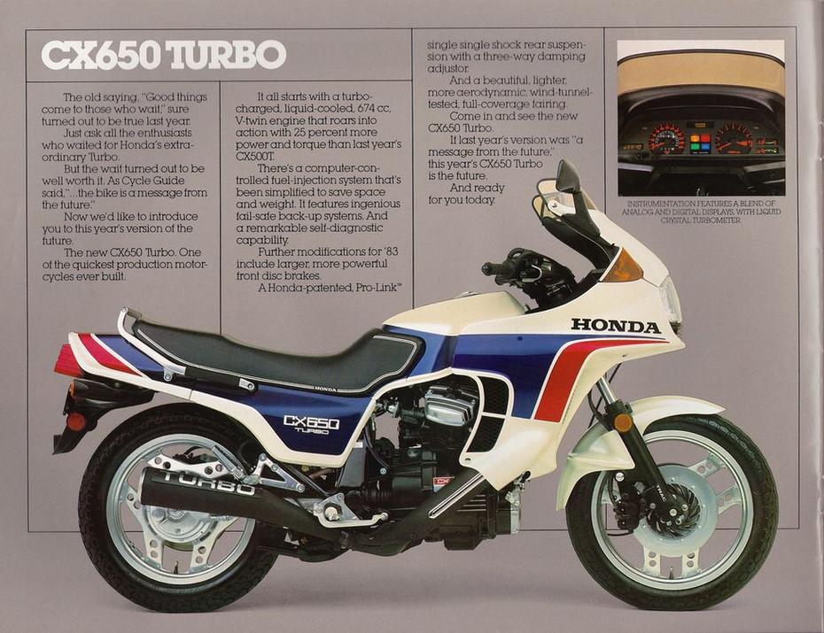 Os motores Turbo e as motos