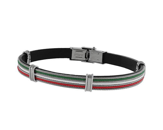 SKULL RIDER, Leather Bracelet