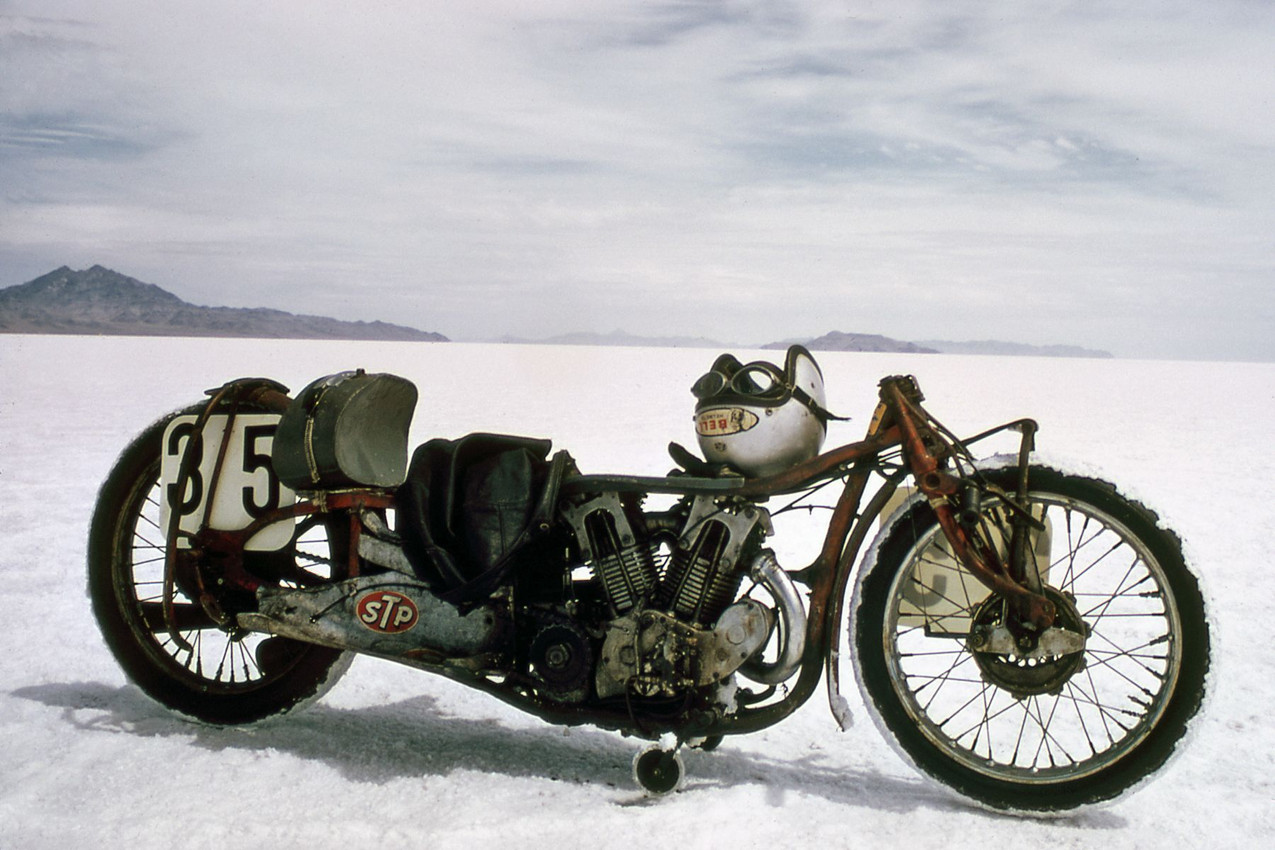Burt Munro, INDIAN without streamline