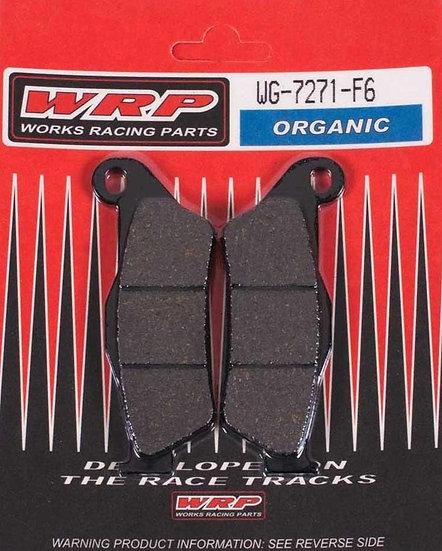 WRP, pastilhas de travão ORGANIC F6