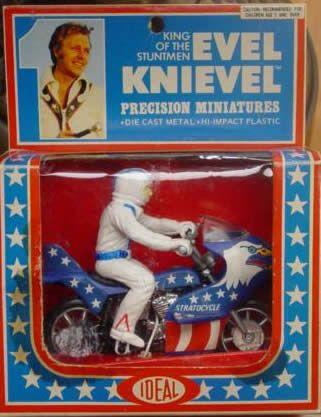 Evel Knievel, miniaturas, B