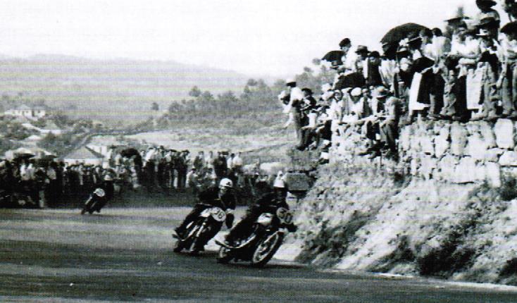 VR 1952 aspecto da corrida de 500cc