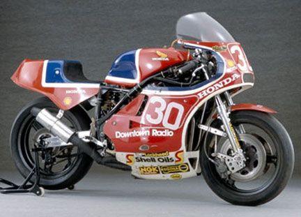 Joey Dunlop, HONDA RSC 1000, 1982
