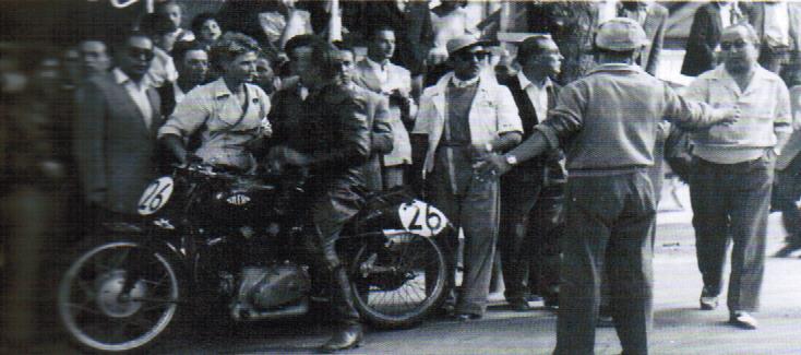 VR 1952 Werner Gerber AJS 500cc