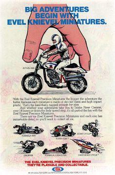 Evel Knievel, miniaturas