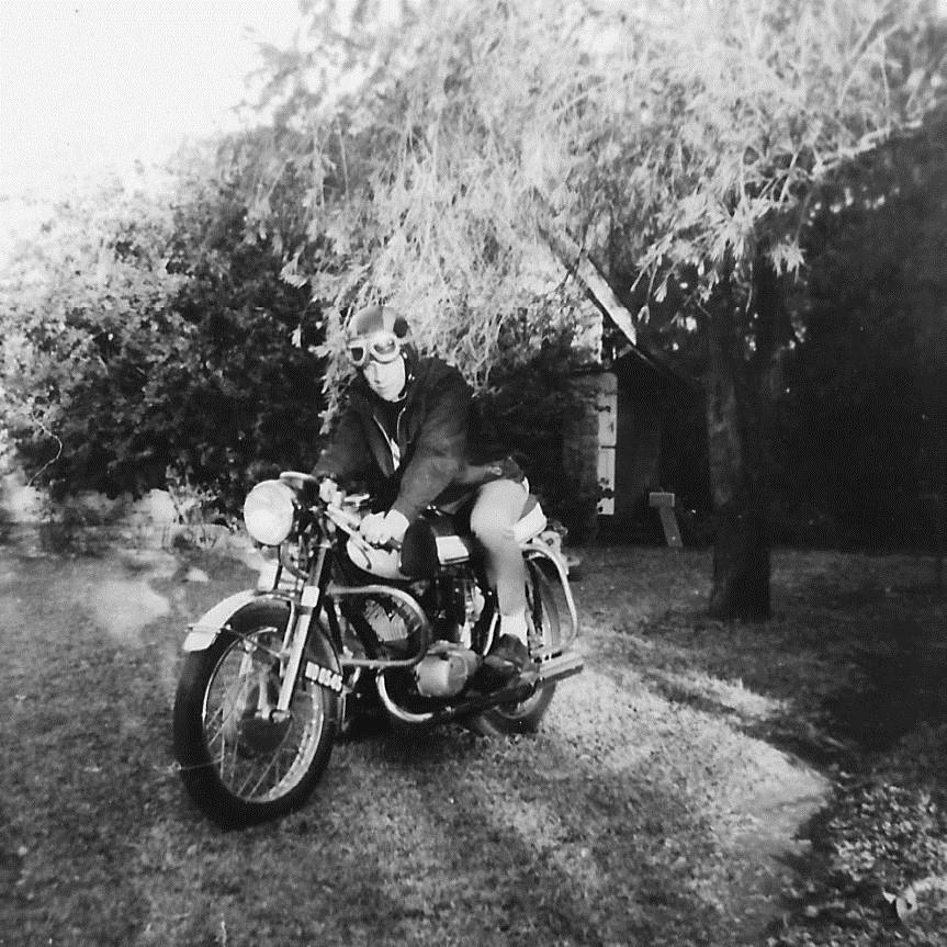 A minha primeira moto!