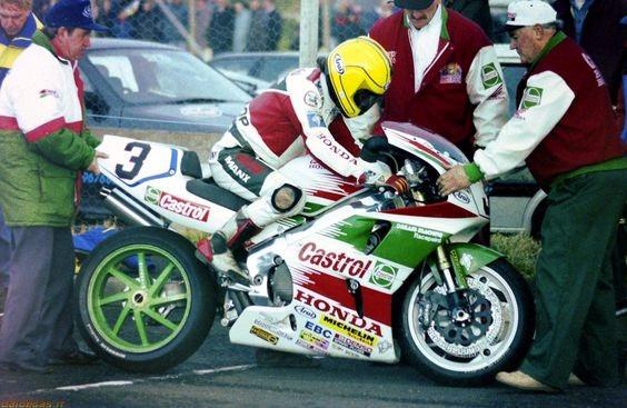 Joey Dunlop, North West 200, HONDA RVF 750 (RC45), 1995