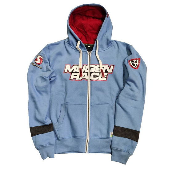 MUGENRACE, hooded zip sweatshirt H-1898