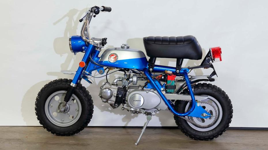 HONDA Monkey, um modelo que promoveu universalmente o uso da moto