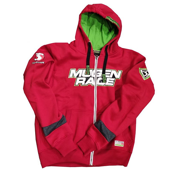 MUGENRACE, hooded zip sweatshirt H-1898W