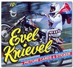 Evel Knievel, cards