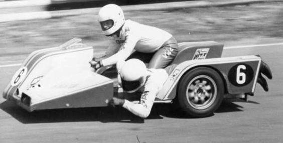 KONIG Sidecar, 1975, George O'Dell - Alan Gosling